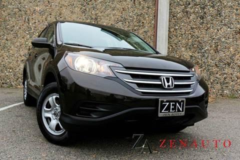 2013 Honda CR-V for sale at Zen Auto Sales in Sacramento CA