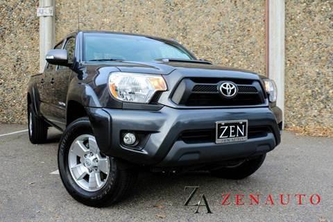 2015 Toyota Tacoma for sale at Zen Auto Sales in Sacramento CA