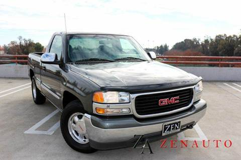2002 GMC Sierra 1500 for sale at Zen Auto Sales in Sacramento CA