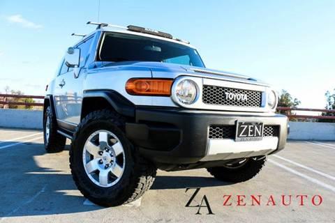 2007 Toyota FJ Cruiser for sale at Zen Auto Sales in Sacramento CA