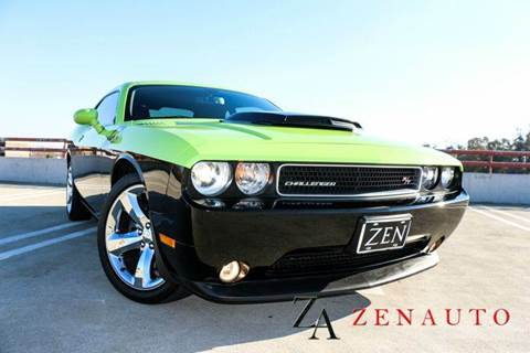 2012 Dodge Challenger for sale at Zen Auto Sales in Sacramento CA