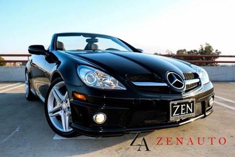 2011 Mercedes-Benz SLK for sale at Zen Auto Sales in Sacramento CA