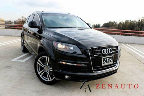 2009 Audi Q7 for sale at Zen Auto Sales in Sacramento CA