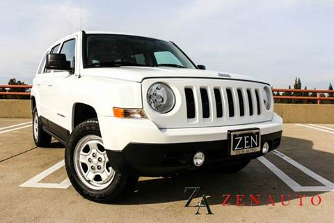 2015 Jeep Patriot for sale at Zen Auto Sales in Sacramento CA