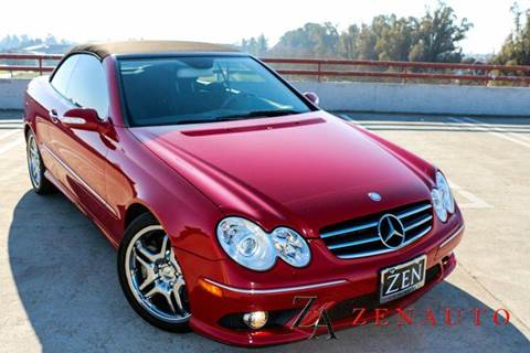 2008 Mercedes-Benz CLK for sale at Zen Auto Sales in Sacramento CA