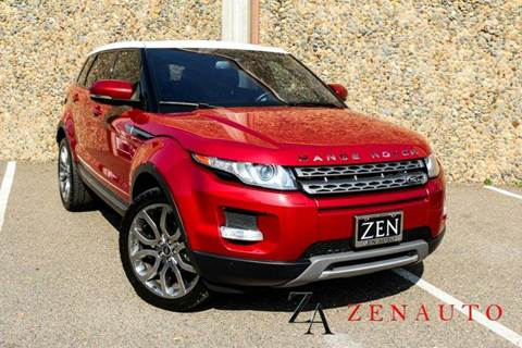 2013 Land Rover Range Rover Evoque for sale at Zen Auto Sales in Sacramento CA