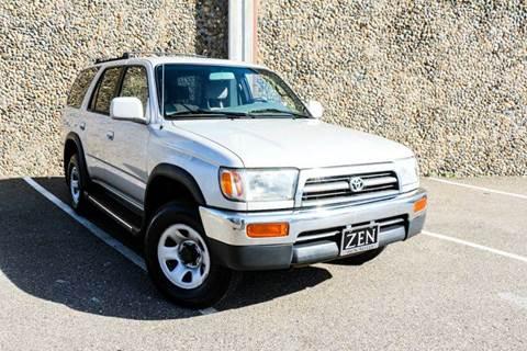1997 Toyota 4Runner for sale at Zen Auto Sales in Sacramento CA
