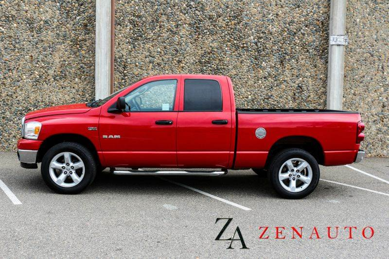 2008 dodge ram pickup 1500 slt 4dr quad cab 4wd sb in sacramento ca zen auto sales. Black Bedroom Furniture Sets. Home Design Ideas