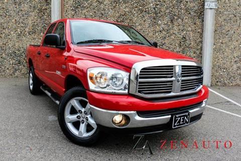 2008 Dodge Ram Pickup 1500 for sale at Zen Auto Sales in Sacramento CA