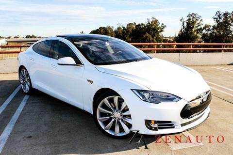 2012 Tesla Model S for sale at Zen Auto Sales in Sacramento CA