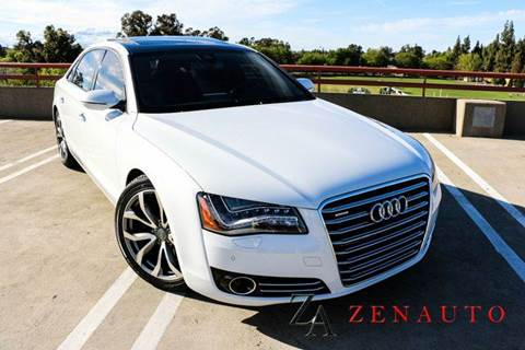 2012 Audi A8 for sale at Zen Auto Sales in Sacramento CA