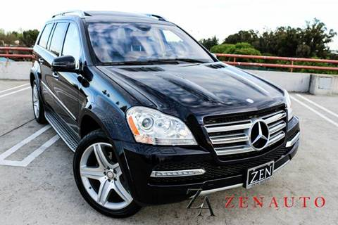 2012 Mercedes-Benz GL-Class for sale at Zen Auto Sales in Sacramento CA