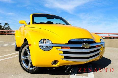 2004 Chevrolet SSR for sale at Zen Auto Sales in Sacramento CA