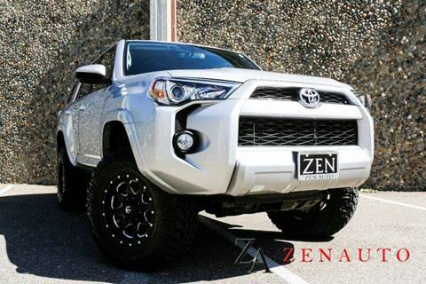2015 Toyota 4Runner for sale at Zen Auto Sales in Sacramento CA