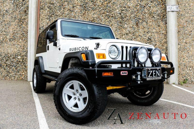 2006 Jeep Wrangler Unlimited Rubicon 2dr SUV 4WD In Sacrato CA ...