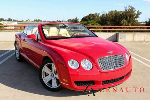 2007 Bentley Continental GTC for sale at Zen Auto Sales in Sacramento CA