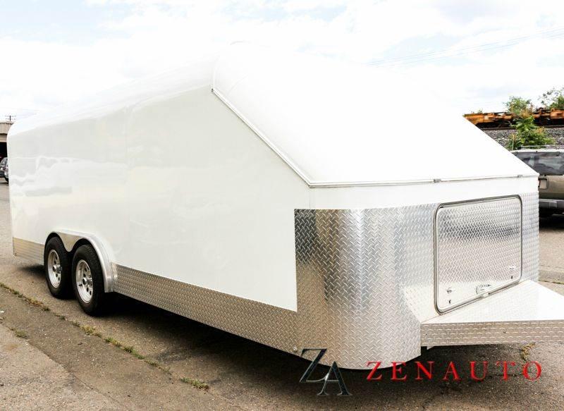 2002 Jimglo Enclosed  Car Trailer for sale at Zen Auto Sales in Sacramento CA