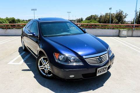 2006 Acura RL for sale at Zen Auto Sales in Sacramento CA