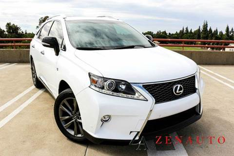 2015 Lexus RX 350 for sale at Zen Auto Sales in Sacramento CA