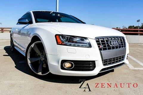 2011 Audi S5 for sale at Zen Auto Sales in Sacramento CA