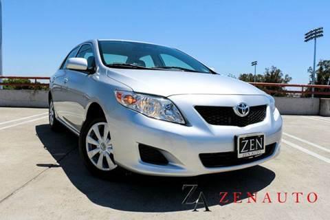 2010 Toyota Corolla for sale at Zen Auto Sales in Sacramento CA