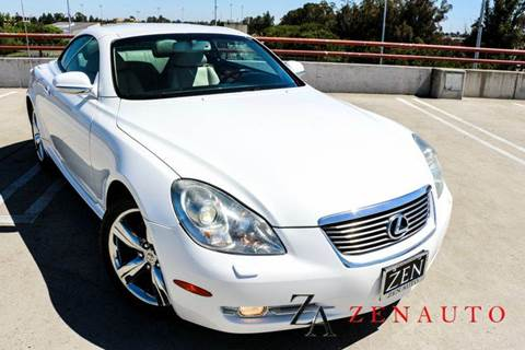 2007 Lexus SC 430 for sale at Zen Auto Sales in Sacramento CA