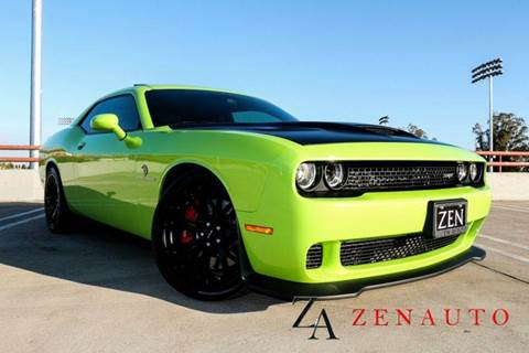 2015 Dodge Challenger for sale at Zen Auto Sales in Sacramento CA