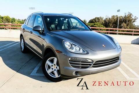 2012 Porsche Cayenne for sale at Zen Auto Sales in Sacramento CA