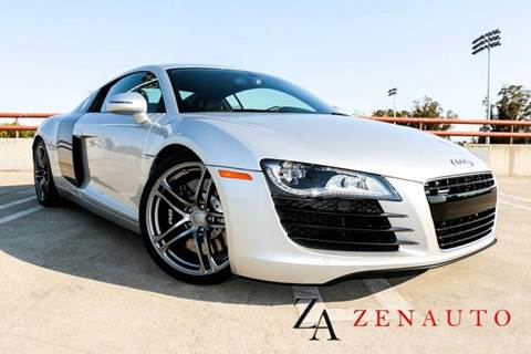 2012 Audi R8 for sale at Zen Auto Sales in Sacramento CA