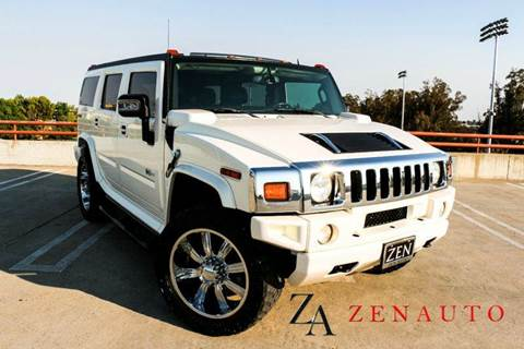 2008 HUMMER H2 for sale at Zen Auto Sales in Sacramento CA