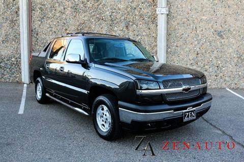 2006 Chevrolet Avalanche for sale at Zen Auto Sales in Sacramento CA