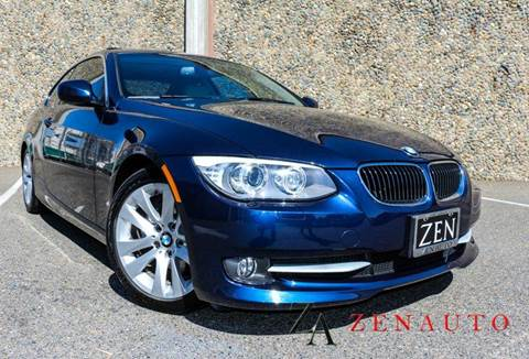 2013 BMW 3 Series for sale at Zen Auto Sales in Sacramento CA
