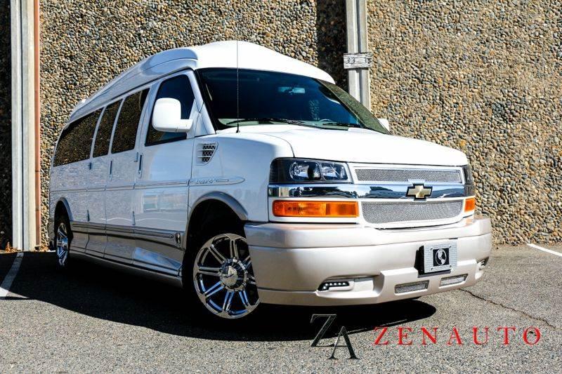 1c575691fb 2014 Chevrolet Express Passenger Extended 9 Passenger Conversion Van  Explorer Limited SE - Sacramento CA