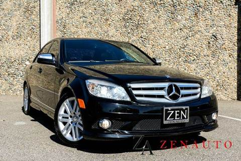 2009 Mercedes-Benz C-Class for sale at Zen Auto Sales in Sacramento CA