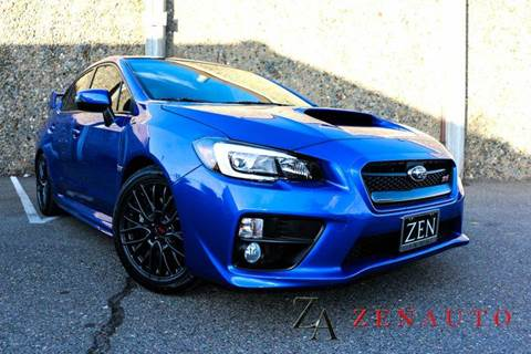 2016 Subaru WRX for sale at Zen Auto Sales in Sacramento CA