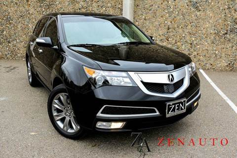 2012 Acura MDX for sale at Zen Auto Sales in Sacramento CA