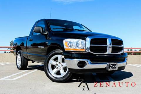 2006 Dodge Ram Pickup 1500 for sale at Zen Auto Sales in Sacramento CA