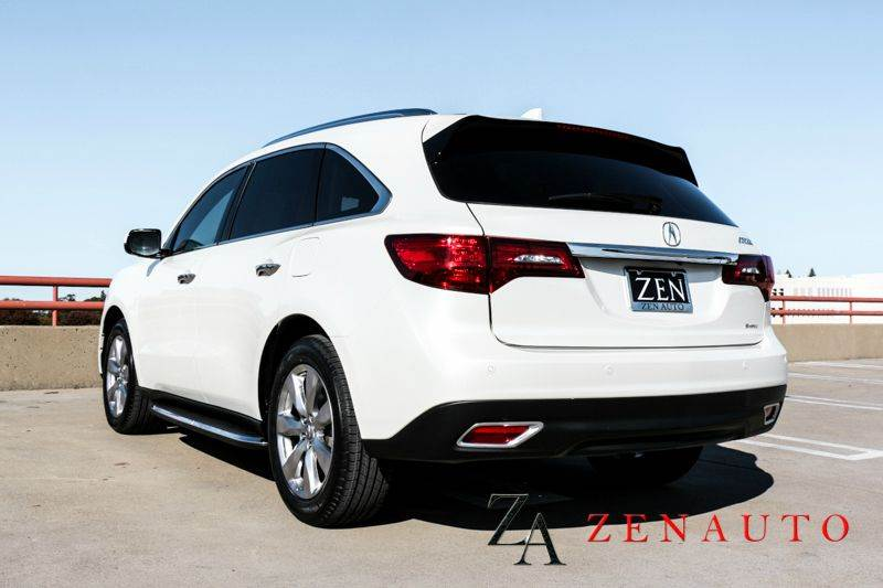 2014 acura mdx sh awd w advance w res 4dr suv and entertainment package in sacramento ca zen. Black Bedroom Furniture Sets. Home Design Ideas