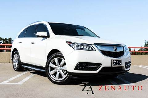 2014 Acura MDX for sale at Zen Auto Sales in Sacramento CA