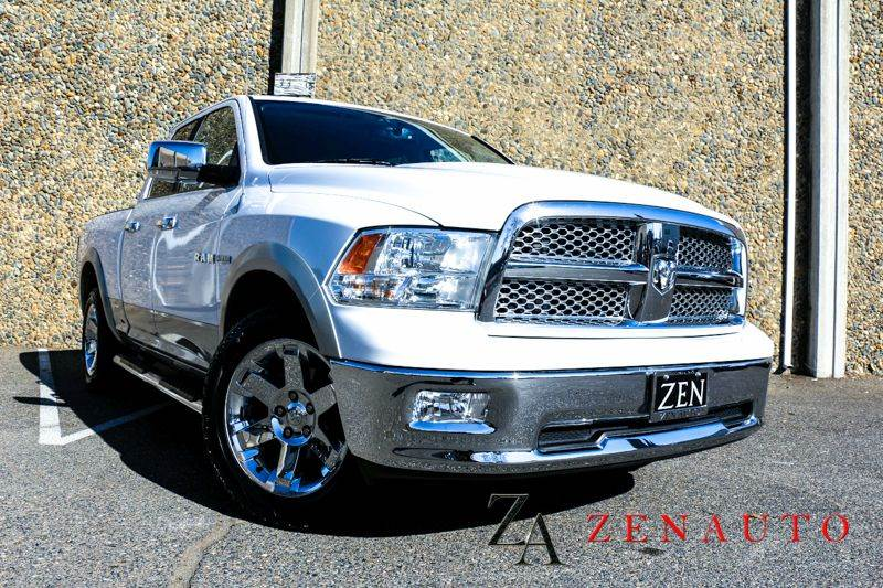 2010 dodge ram pickup 1500 laramie 4x4 4dr quad cab 6 3 ft sb pickup in sacramento ca zen. Black Bedroom Furniture Sets. Home Design Ideas