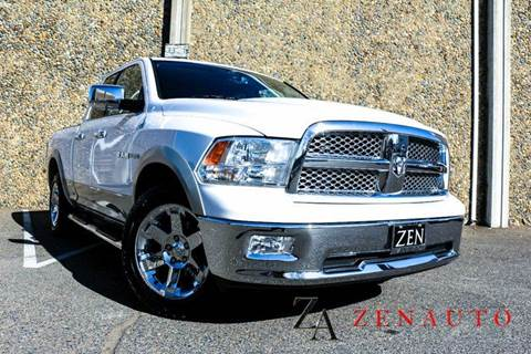 2010 Dodge Ram Pickup 1500 for sale at Zen Auto Sales in Sacramento CA