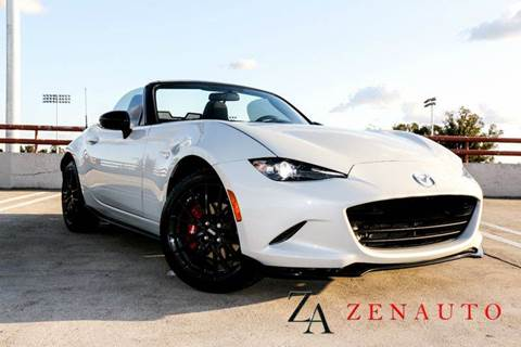 2016 Mazda MX-5 Miata for sale at Zen Auto Sales in Sacramento CA