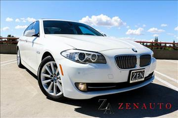 2012 BMW 5 Series for sale at Zen Auto Sales in Sacramento CA