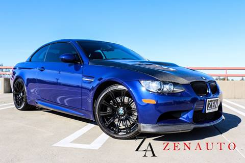2013 BMW M3 for sale at Zen Auto Sales in Sacramento CA