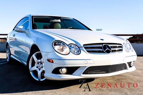 2009 Mercedes-Benz CLK for sale at Zen Auto Sales in Sacramento CA