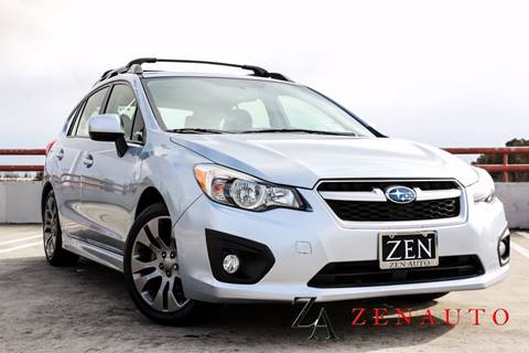 2014 Subaru Impreza for sale at Zen Auto Sales in Sacramento CA