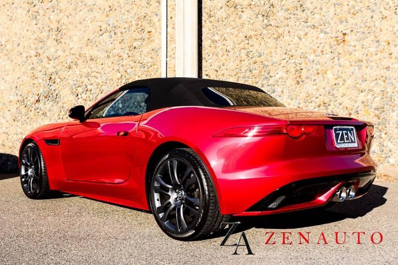 2014 jaguar f type s 2dr convertible in sacramento ca zen auto sales. Black Bedroom Furniture Sets. Home Design Ideas