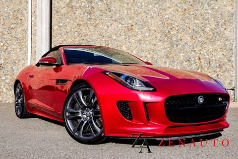 2014 Jaguar F-TYPE for sale at Zen Auto Sales in Sacramento CA