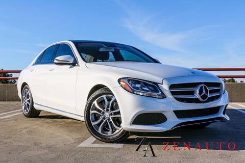 2016 Mercedes-Benz C-Class for sale at Zen Auto Sales in Sacramento CA