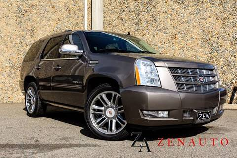 2014 Cadillac Escalade for sale at Zen Auto Sales in Sacramento CA